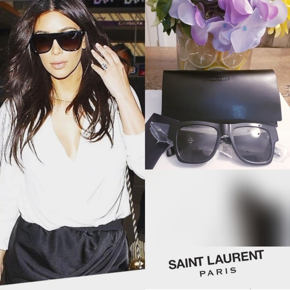 bb0067007a8 Saint Laurent Accessories | New Ysl Dframe Oversized Sunglasses ...